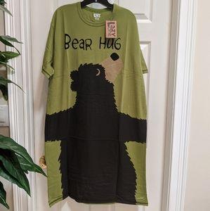 Lazy One Women's Night Shirt NWT One Size